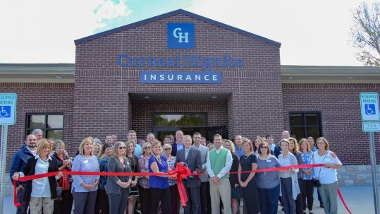 Curneal Hignite Insurance Ribbon Cutting
